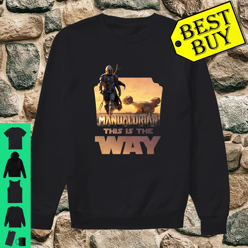 Star Wars The Mandalorian This Is The Way shirt sweater